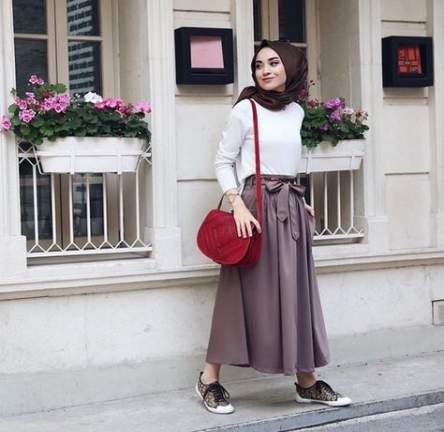 Skirt Outfits Hijab Long 27 Best Ideas