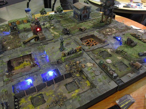 warmachine gaming table for penny arcade wargaming battle boards