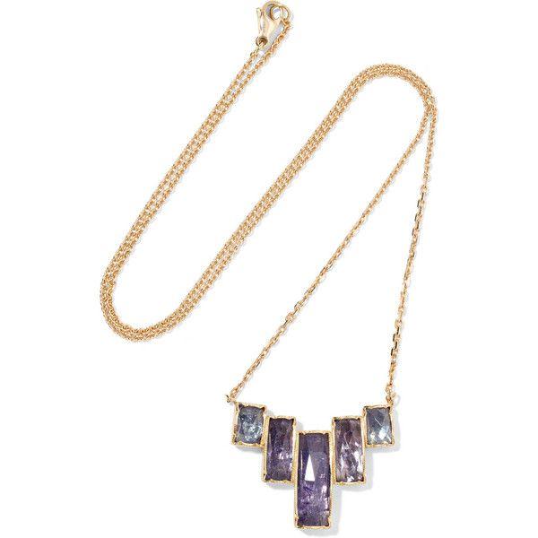 18-karat Gold Ruby Necklace - one size Brooke Gregson 8QfOy