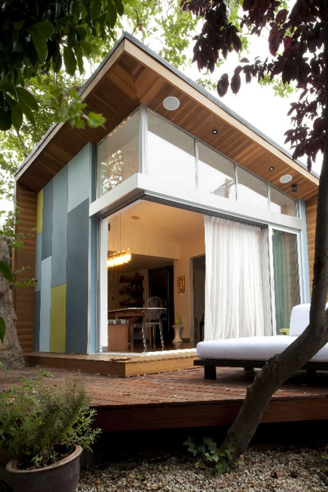 How cute is this little tiny space! Dwell always showcases innovative small-scale projects.