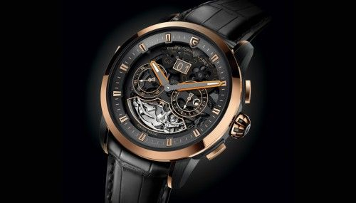 Following the Adagio and Soprano, the Allegro from Christophe Claret contains a minute repeater with cathedral gongs as well as a day/night indicator.