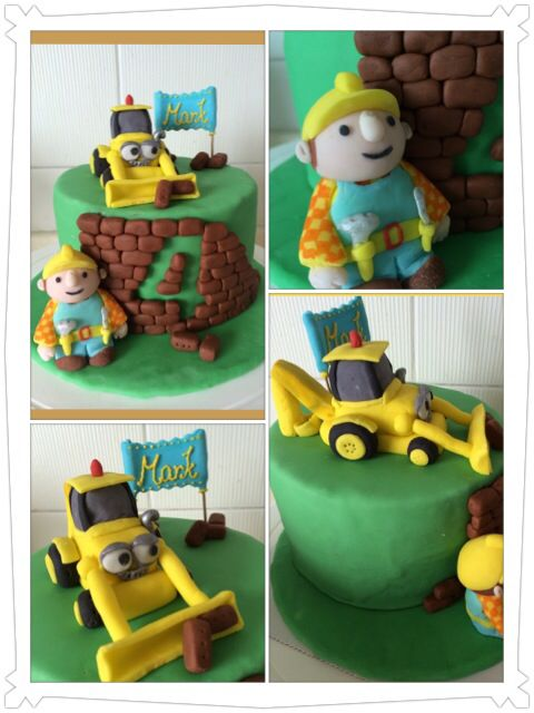 Bob The Builder Cake Cakes And Sweets Pinterest Cake And