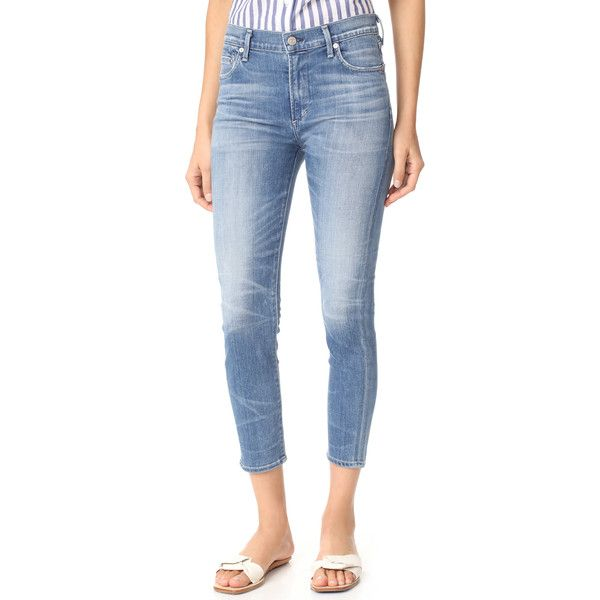 frayed cropped skinny jeans - Blue Citizens Of Humanity GRksWWYv
