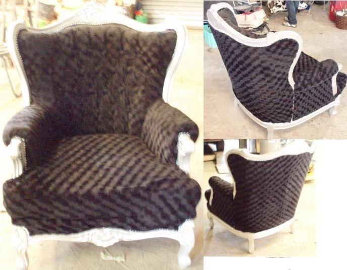 Zwarte Barok Stoel : Zwarte barok stoel oude barok stoelen en bankjes in een nieuw en