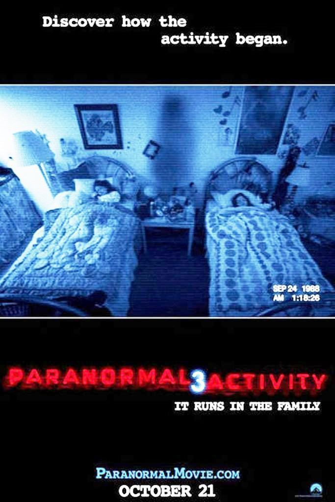 Paranormal Activity 3 2011 Paranormal Activity 3 Paranormal Activity Free Movies Online