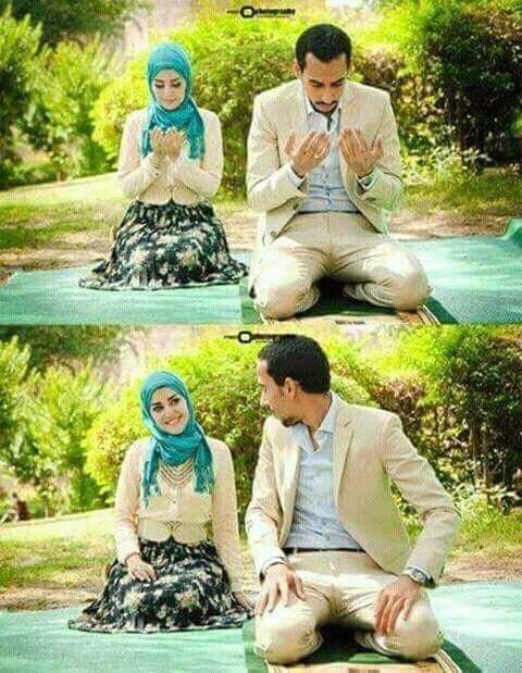 قال لها هل دعيت لي قالت دعيت لك قال ومادعاوك قالت قلت يارب ان لم تجعلني سعاده لقلبه فلا تجعلني وجعآ له Cute Muslim Couples Muslim Couples Islamic Girl