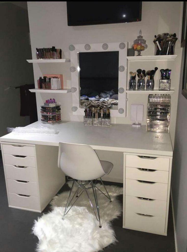 28 Diy Simple Makeup Room Ideas Organizer Storage And Decorating Room Decor Home Decor Dream Rooms