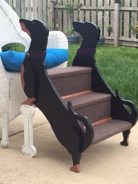 Bedside Step Stools For Adults: Dog Ramp, Diy Stuffed Animals, Dog Stairs