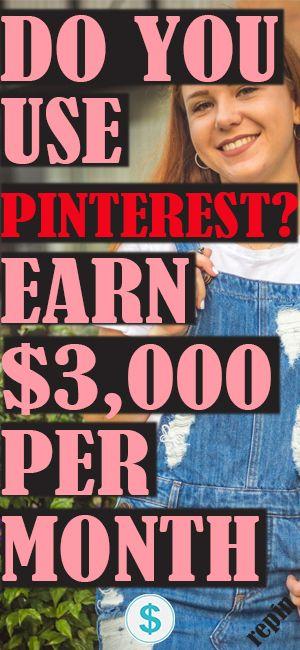 Verwenden Sie Pinterest? Verdienen Sie 3.000 USD pro Monat!   – HOW TO MAKE MONEY ON PINTEREST
