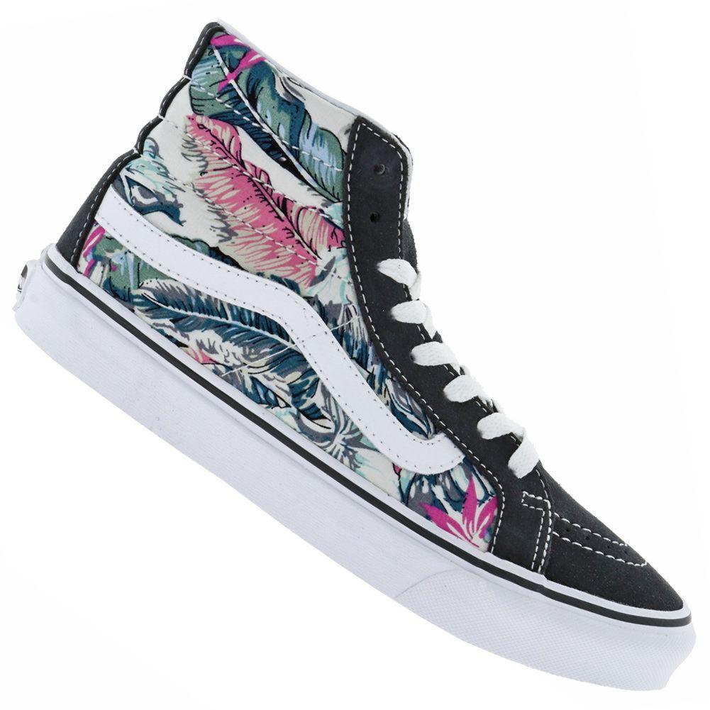 Vans Sk8 Hi Slim Tropical Sneaker für Damen Der