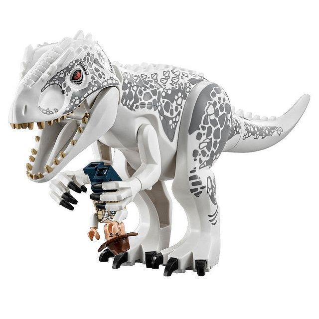 LEGO Jurassic World 2015: 75919 - Indominus Rex Breakout #Lego ...