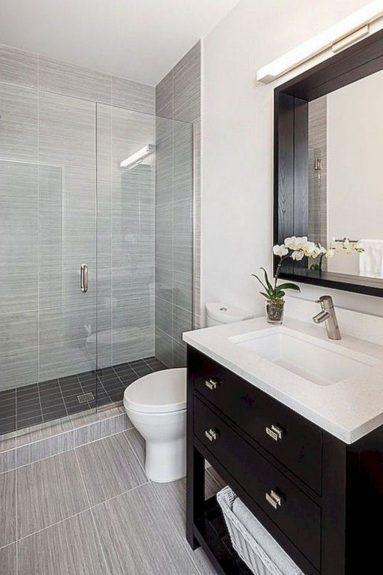 60 Good Small Master Bathroom Ideas Modern Small Bathrooms Small Bathroom Remodel Small Bathroom Vanities