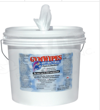 Gym Wipes Antibacterial Bucket Antibacterial Disinfecting Wipes