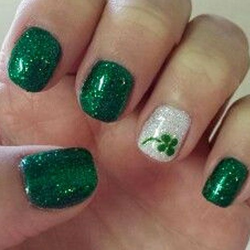Image result for saint patricks day nails