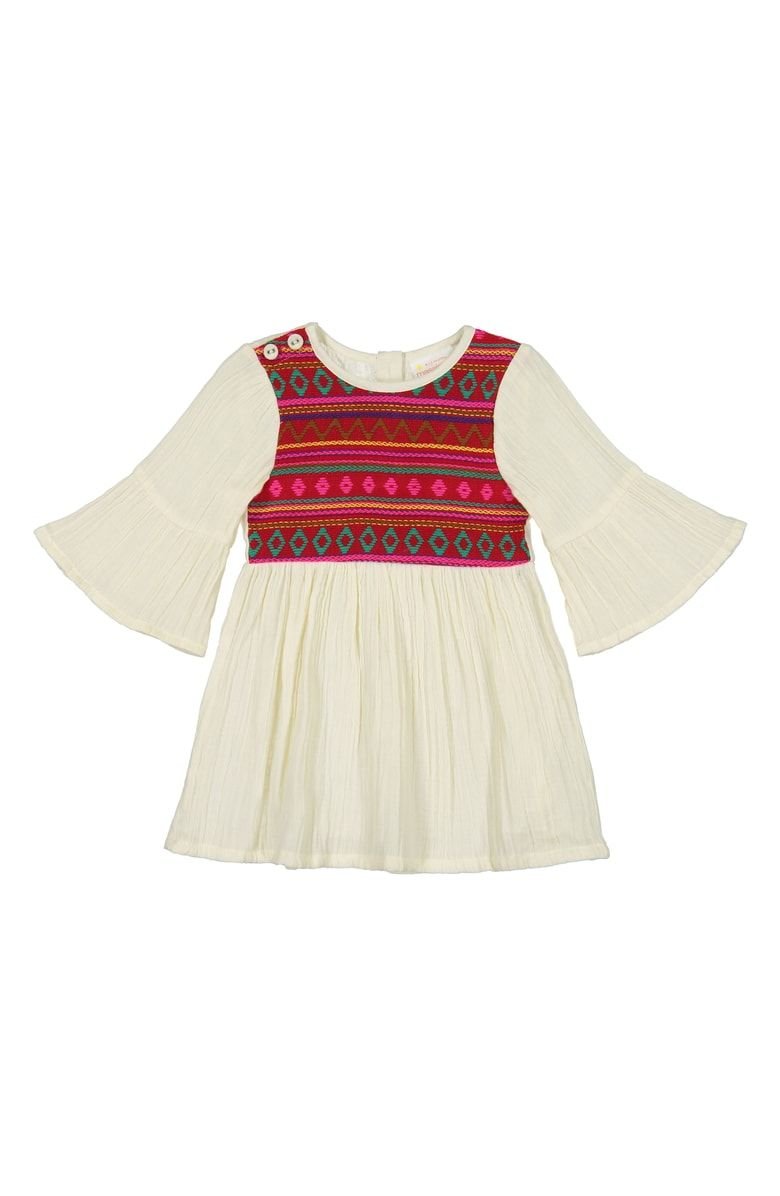 dfec88fd4968 Free shipping and returns on Masala Baby Simple Jacquard Dress (Baby ...
