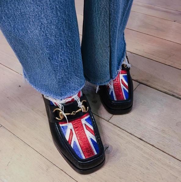 Gucci Union Jack Horsebit loafers U6ZQG6yd
