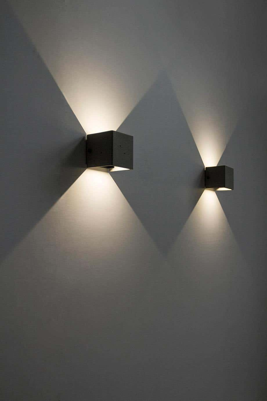 Concrete Wall Lamp Sconce Outdoor Lighting V Wall Lamp Design Wall Lamp Outdoor Wall Lamps