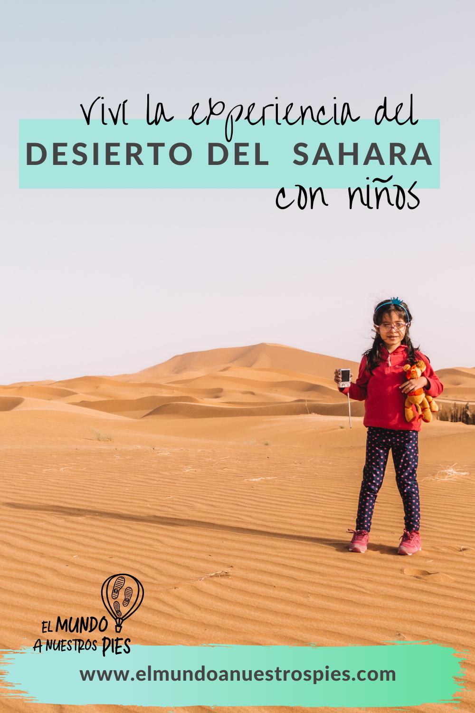Viajar al desierto con niños