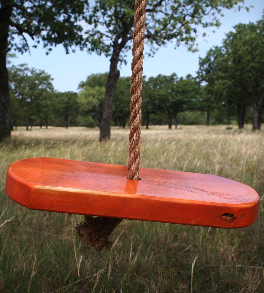 single rope tree swing woodwork swings and babies. Black Bedroom Furniture Sets. Home Design Ideas