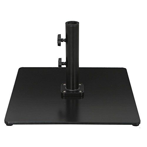 85 Lb. Square Commercial Style Umbrella Base, 2015 Amazon Top Rated Umbrella Stands #Lawn&Patio