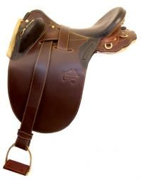 Down Under Dalby Poley Smooth Rich Brown Leather