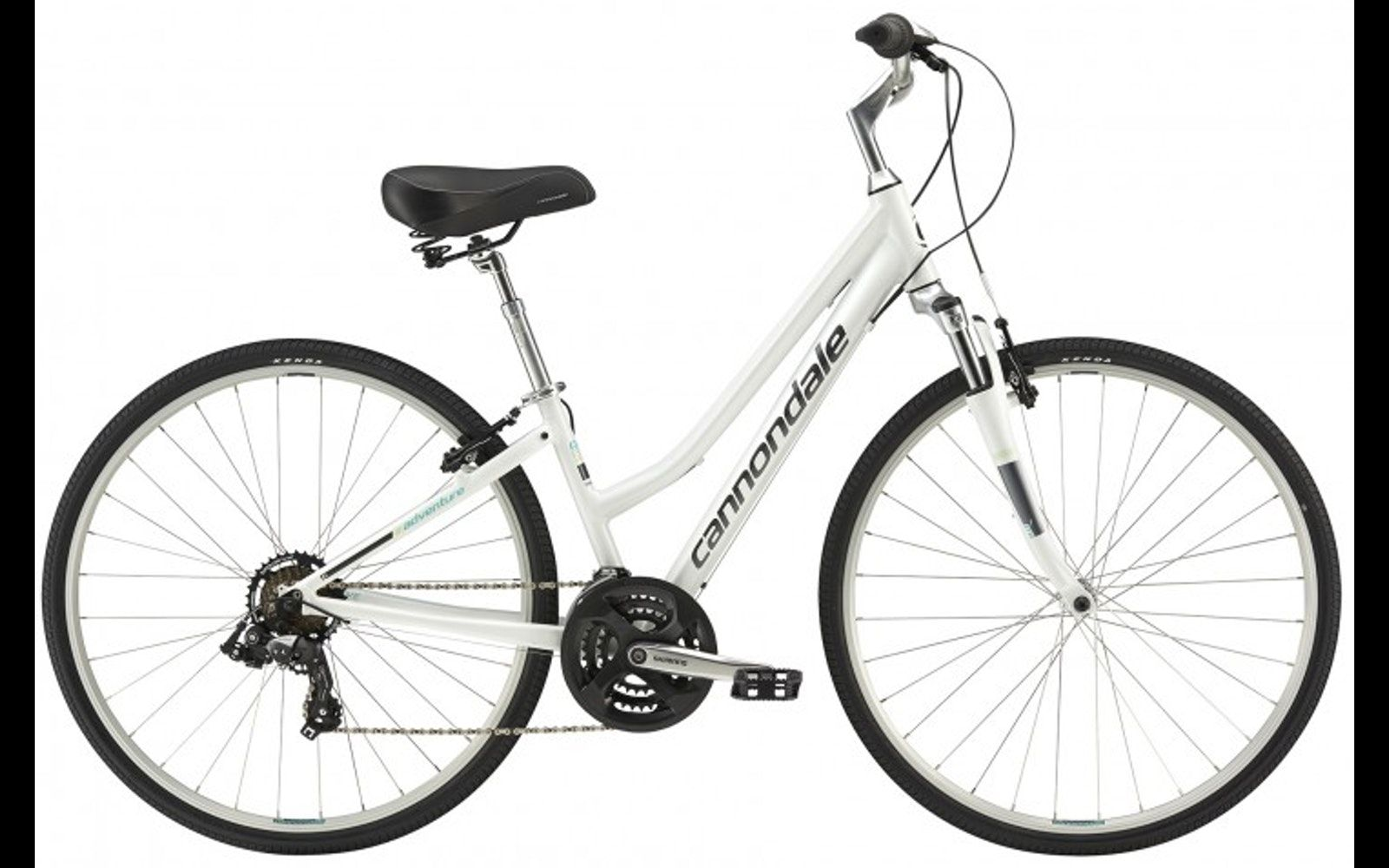 2016 Cannondale Adventure 3 Womens The Agility Of A Road Bike With An Upright Sportive Position And Versatile Tires Quick Spee Womens Bike Hybrid Bike Bike