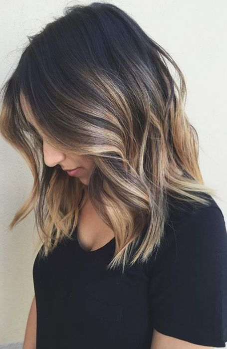 23 Beautiful Shoulder Length Hairstyles for Women -   13 medium hair Ombre ideas