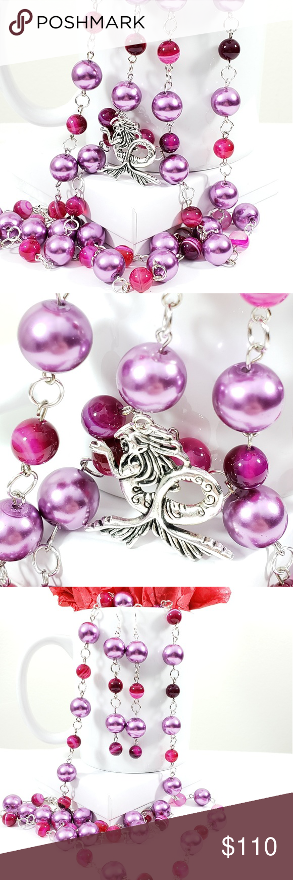 Mermaid Pink & Purple Passion 2pc Set Time Consuming ...