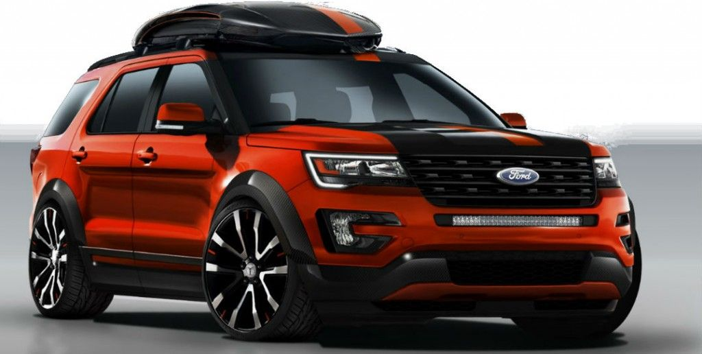 2016 Ford Explorer Sport At Sema 2015 Ford Explorer Sport Ford Explorer 2017 Ford Explorer