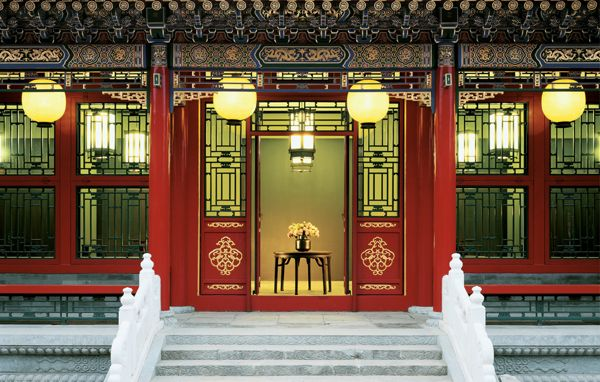 Chinese Palace Interior