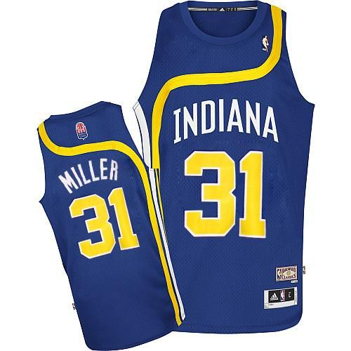 2ae36369c Reggie Miller jersey-Buy 100% official Adidas Reggie Miller Men s Authentic  ABA Hardwood Classic Blue Jersey NBA Indiana Pacers  31 Free Shipping.