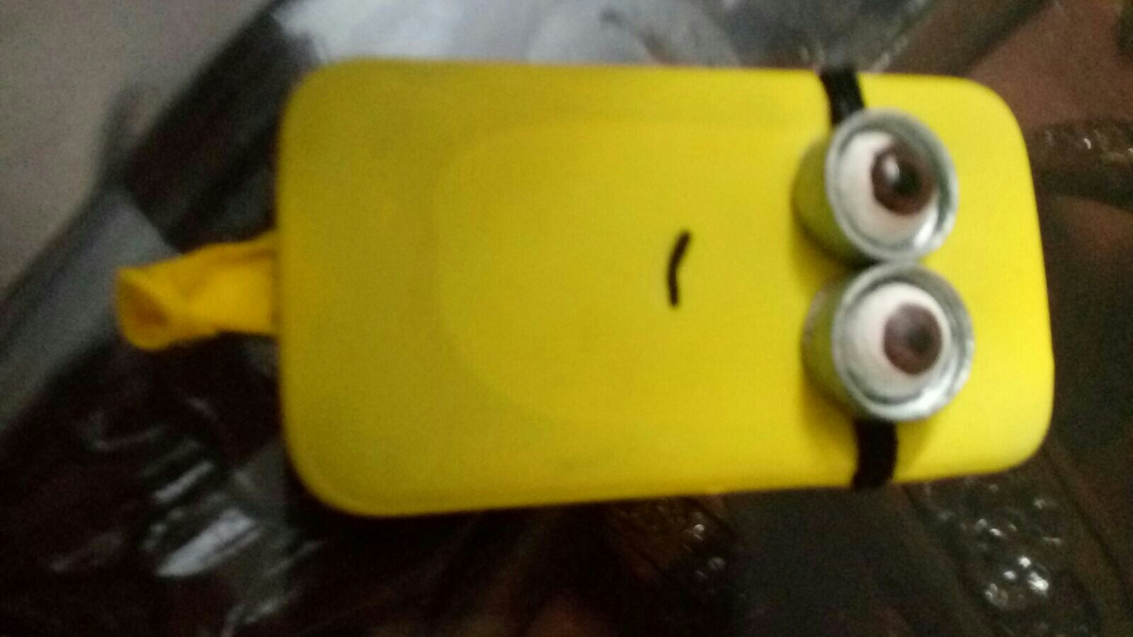 Minion Camera Case : Inspired balloon minion phone case diy polymer pinterest