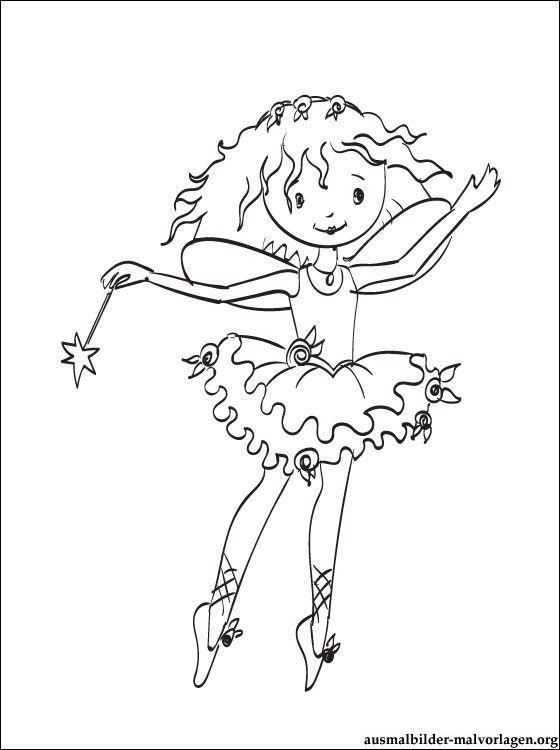 Ausmalbilder Prinzessin Lillifee Kostenlos Lillifee Coloring