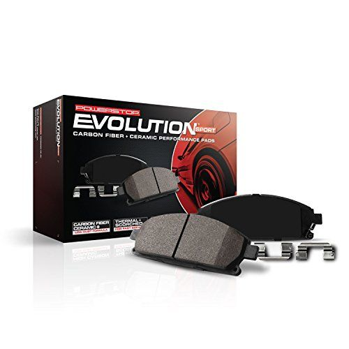 Introducing Power Stop Z231089 Z23 Evolution Sport Brake Pads Front Get Your Car Parts Here And Follow Us For Mor Ceramic Brake Pads Ceramic Brakes Power Stop