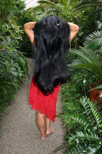 Kerala Girl | Long dark hair, Long hair styles