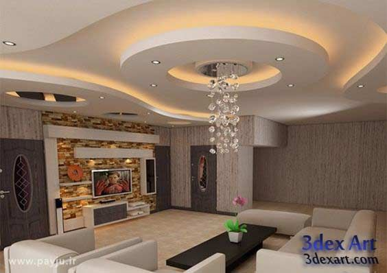 Modern False Ceiling Designs For Living Room And Hall 2018 With Lighting Ideas Ceiling Ceiling Design Living Room Ceiling Design Bedroom False Ceiling Design