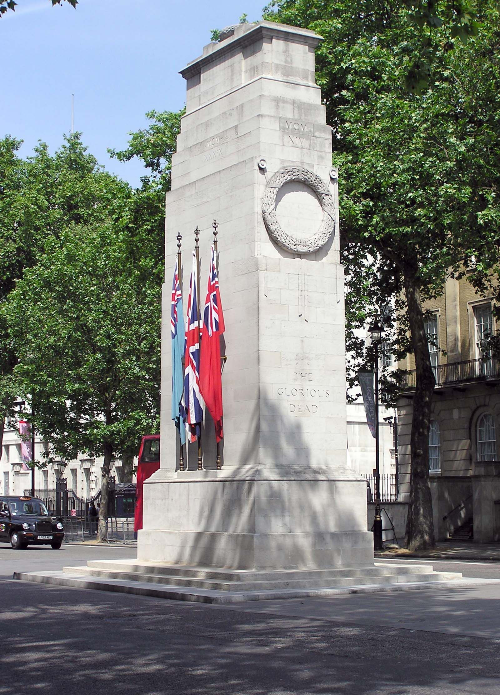 Image result for Edwin Lutyens' Cenotaph 1920, Whitehall, London: