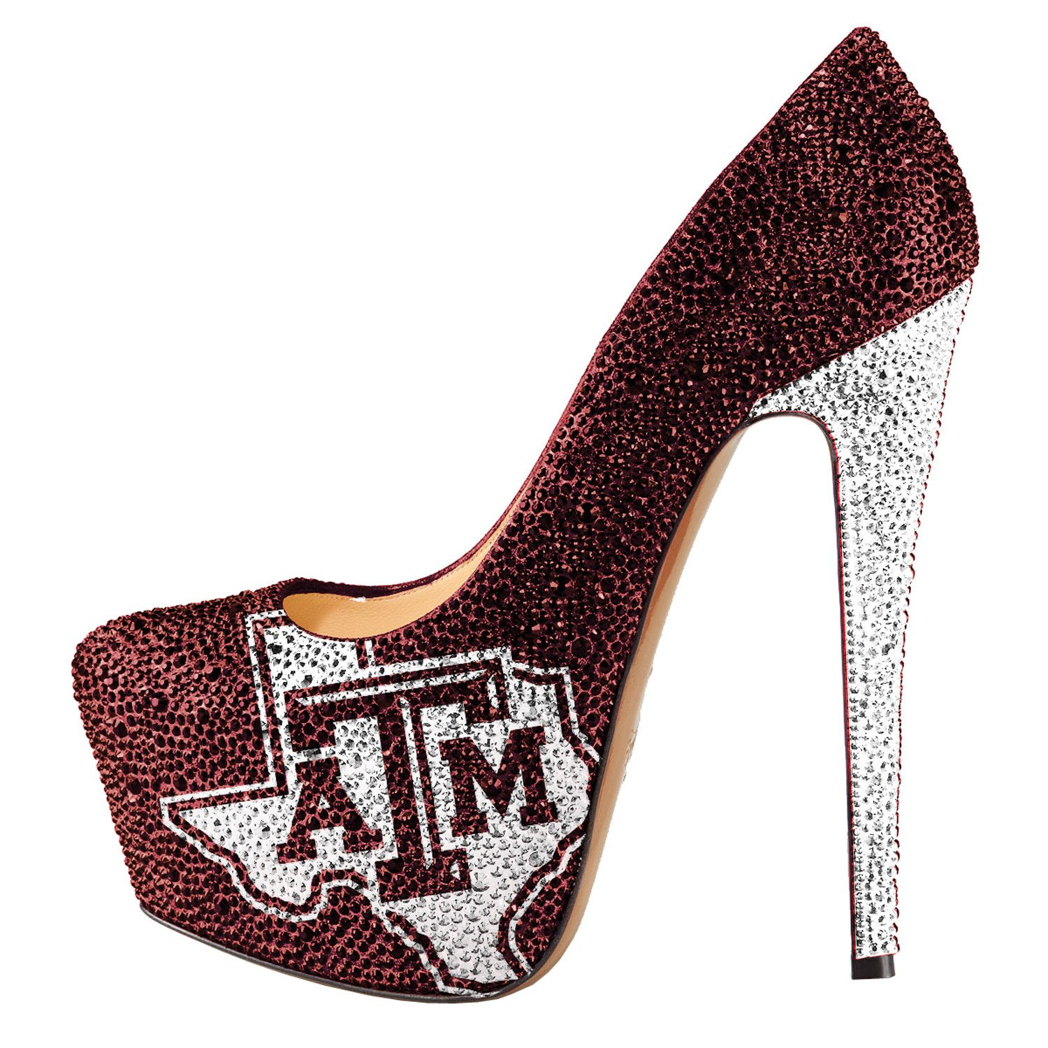 buy cheap amazon Women's Herstar Texas A&M ... Aggies Rhinestone Pump High Heels buy cheap with credit card cheap visit new clearance best place outlet fashion Style b0Jw3