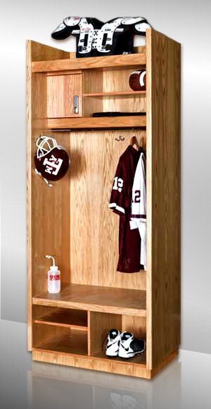 Garage Lockers For The Boys