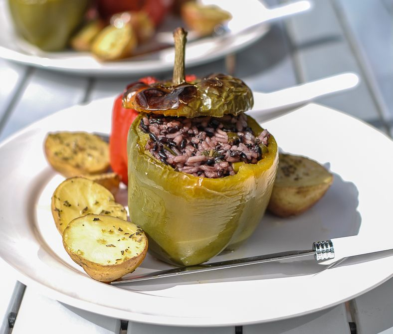 Post image for My Greek-Style Stuffed Peppers