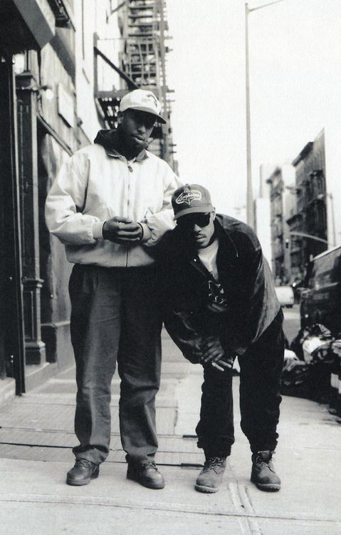 Gang Starr, New York, 1988. Photo By Janette Beckman/Getty