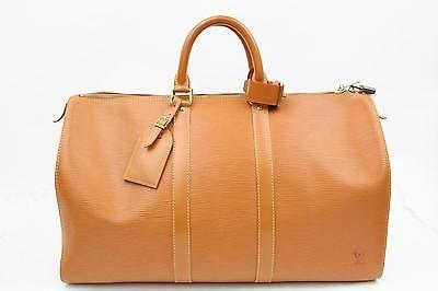 Authentic Louis Vuitton Boston Bag Keepall 45 M42978  Epi 68660 https://t.co/Chh4erJqcG https://t.co/cUnMDpzEVa