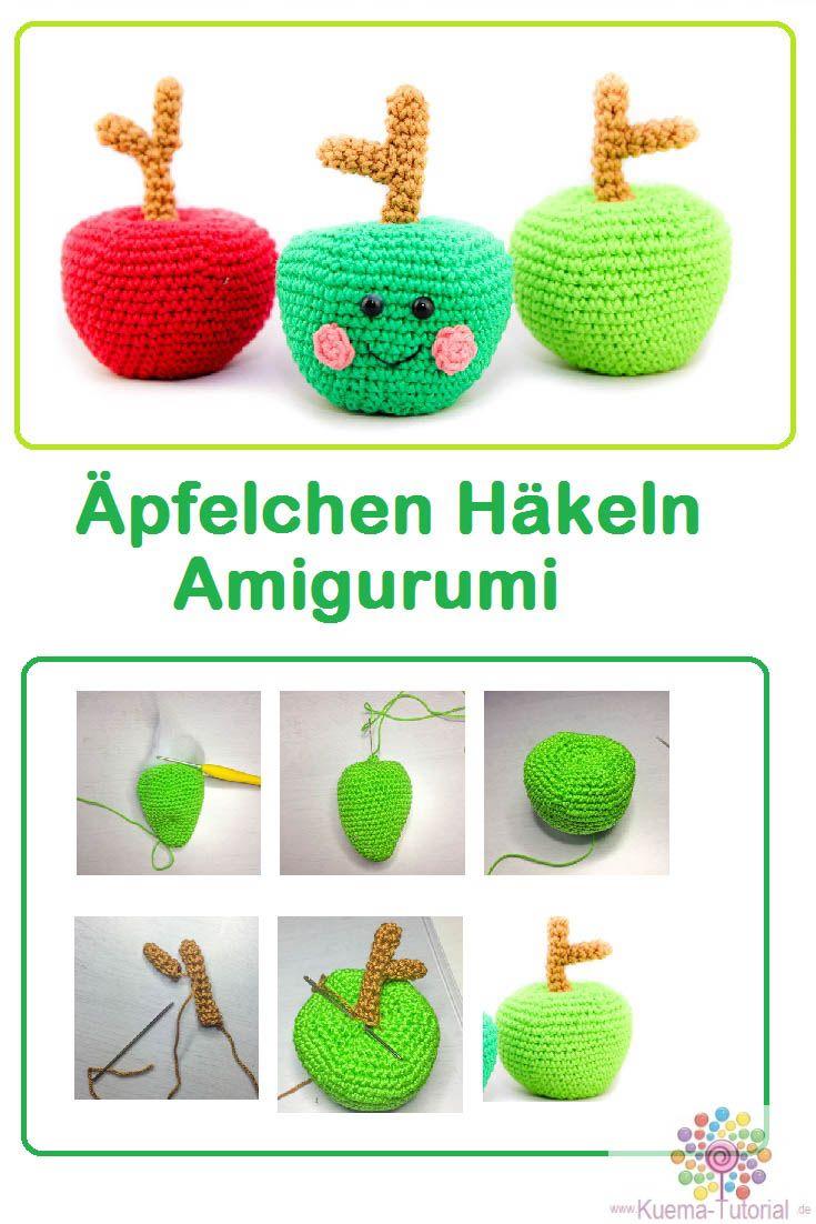 Apfeläpfelchen Häkeln Anleitung Pinterest Amigurumi Anleitung