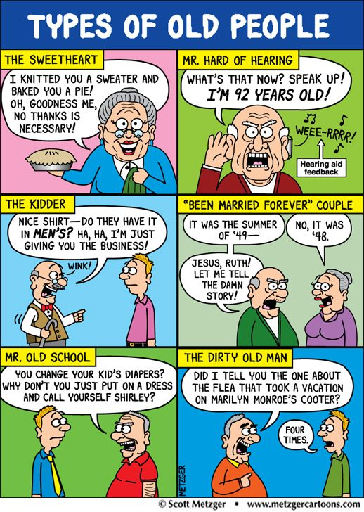 Old Couple Cartoon Meme