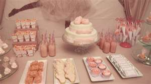 Beautiful Glittery Ballerina Birthday Party
