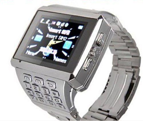 Hictechstore 4gb + Bluetooth +Wifi Dual Sim Watch Cell Phone GSM