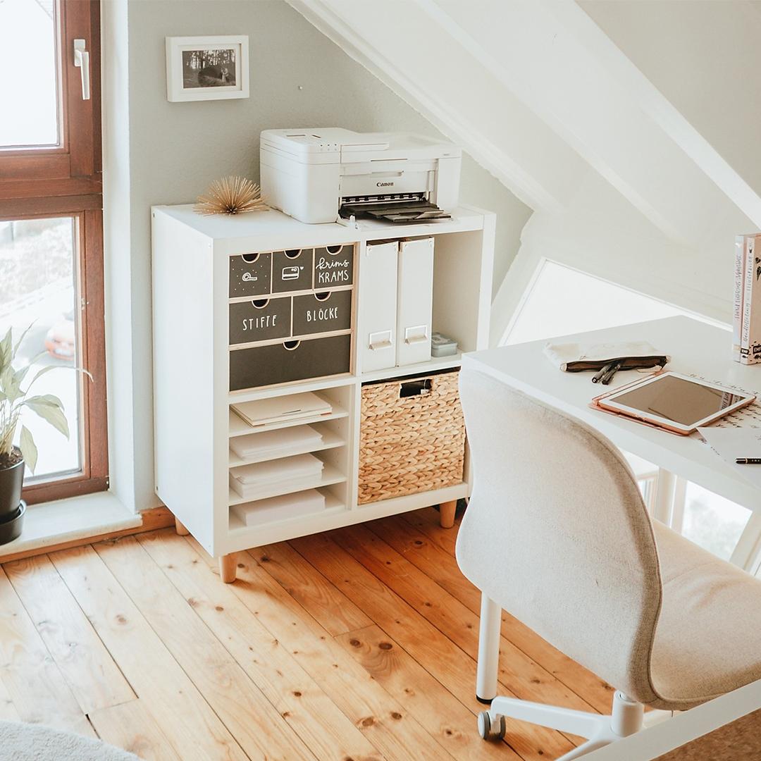 ikea hacks home office organization