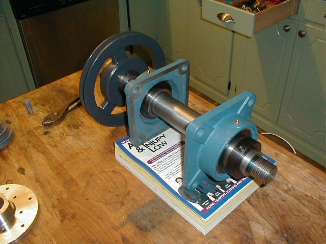 Headstock assembly for lathe