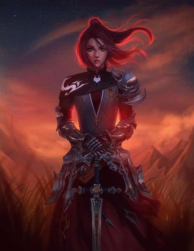 Fantasy/Sci-Fi Illustrations featuring beautiful women - Imgur