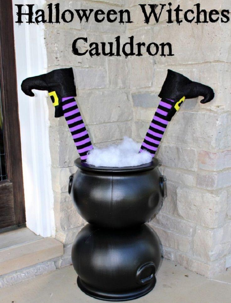 Funny Halloween Witches Cauldron - Spook-takular Halloween - halloween diy ideas